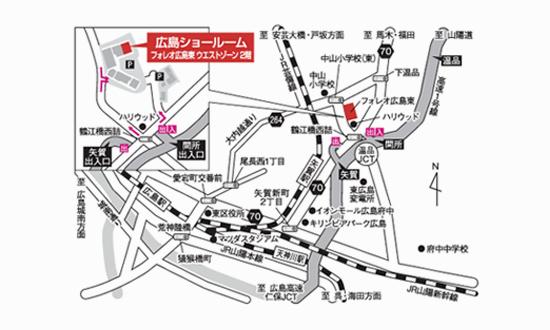 近隣の詳しい地図その2