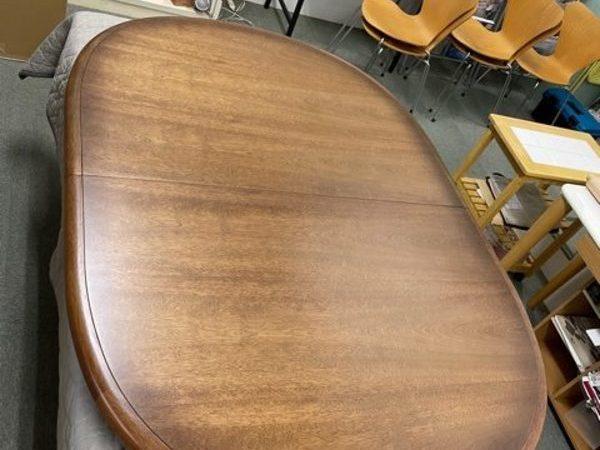 食堂テーブル天板塗替え