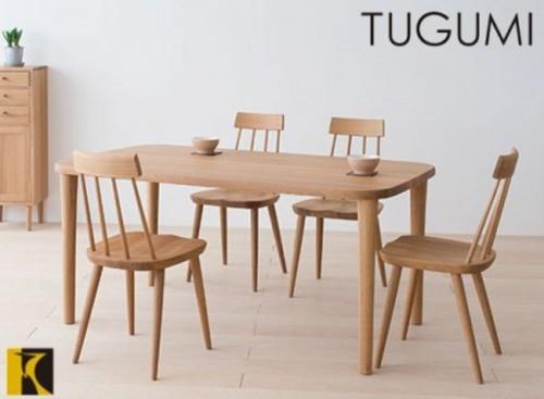 送料無料 TUGUMI テーブルVZ333NX 150cm幅 国産家具 飛騨高山 食堂テーブル