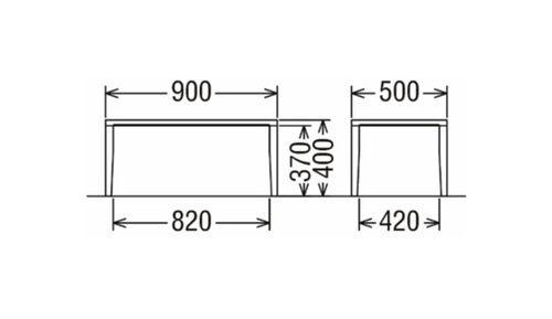 カリモク家具 正規販売店 国産家具 リビングテーブル TU3440 主材/オーク